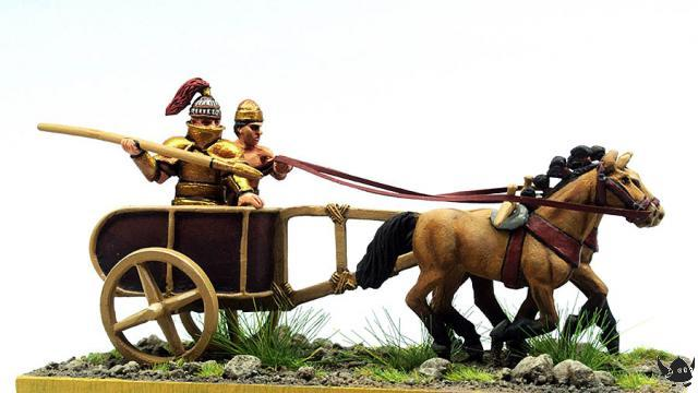 28mm Bronze Age Greek chariot