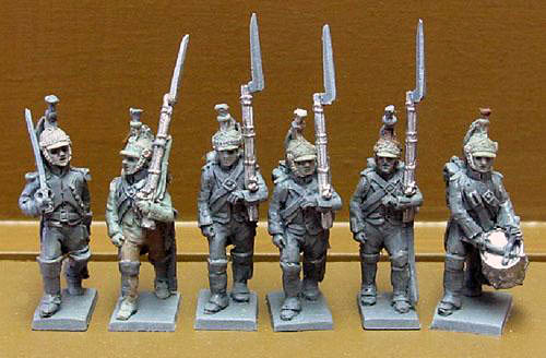 15mm French Dragoons Dismounted