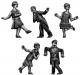 1920s Jazz Dancers - 5 figure set