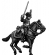 Cuirassier officer charging