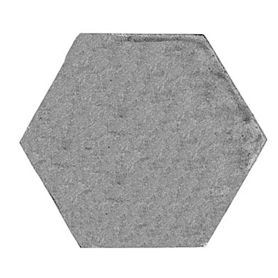 33.5mm (across flat) hexagon, plain
