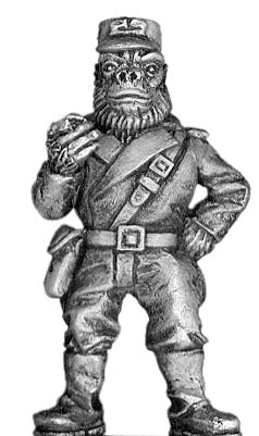 Boiler Suited Ape Big Banana (officer)