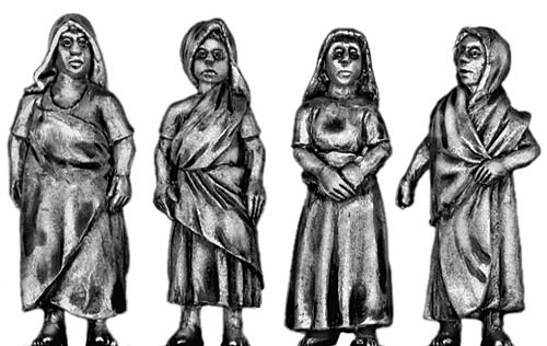 Female Indian Civilian Set