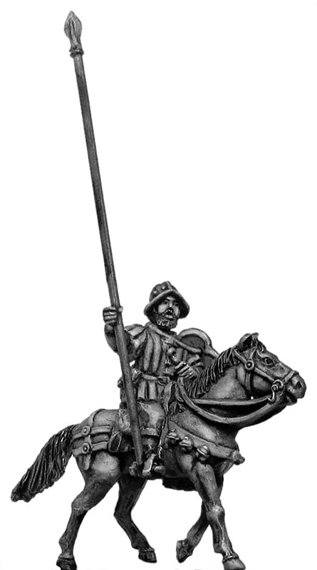 Mounted Standard bearer