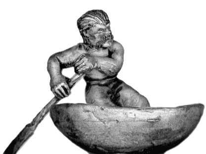 Celt rowing coracle