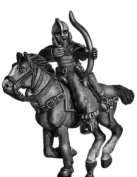 Saracen mounted with bow