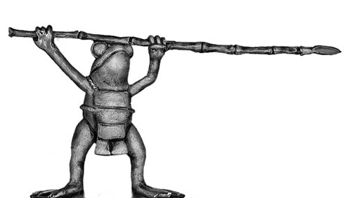 Frog with pike and body armour - second ranker