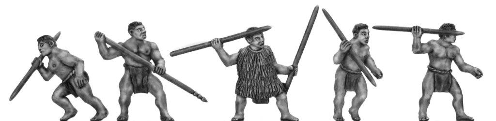 Warriors with javelins
