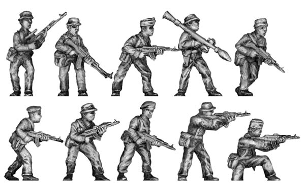 Musorian infantry – Set 1 Variant