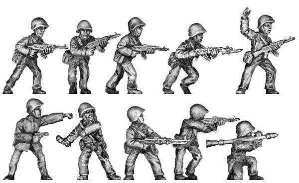 Musorian infantry – Set 2 Variant