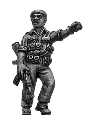 1970s ZANLA guerilla leader with AK47 in beret