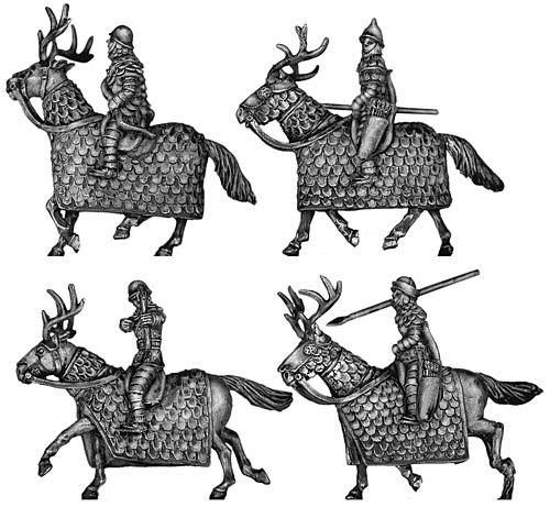 Amazon Cataphract cavalry
