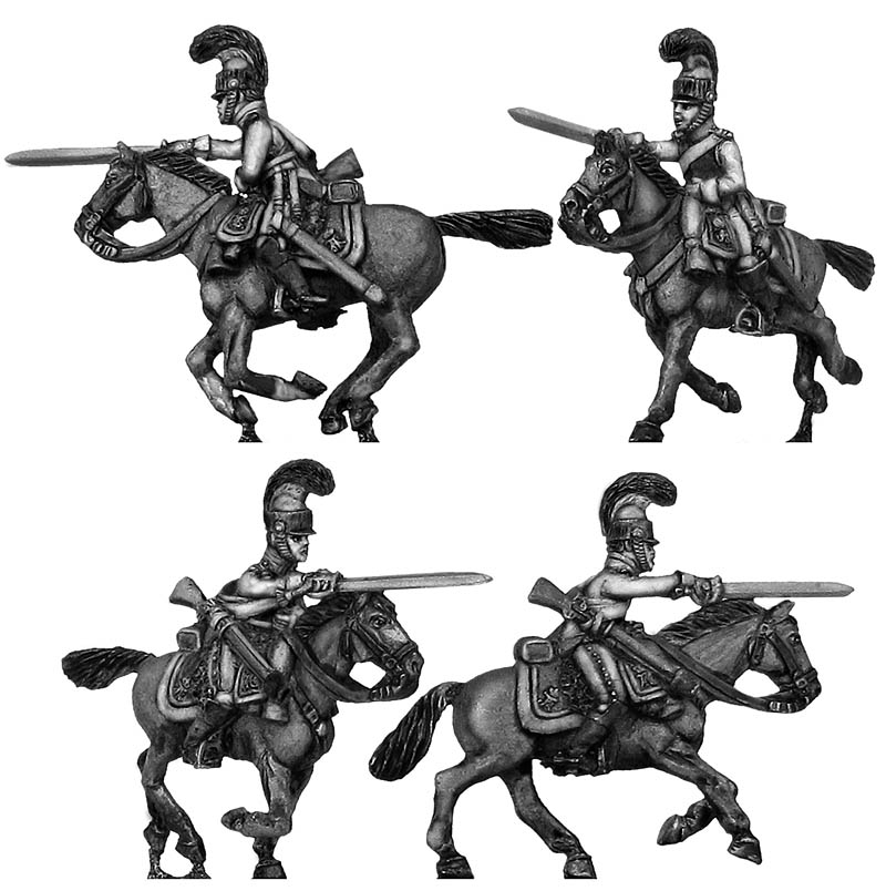 1812 Kürrassier-Regiment von Zastrow trooper charging