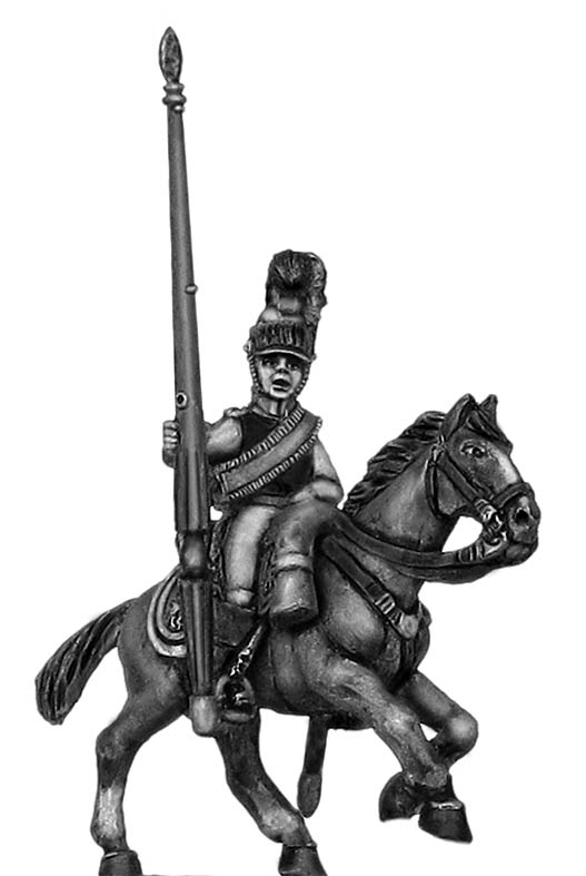 1812 Kürrassier-Regiment von Zastrow standard bearer