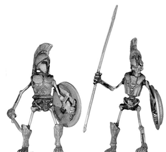 Skeletal Greek hoplite
