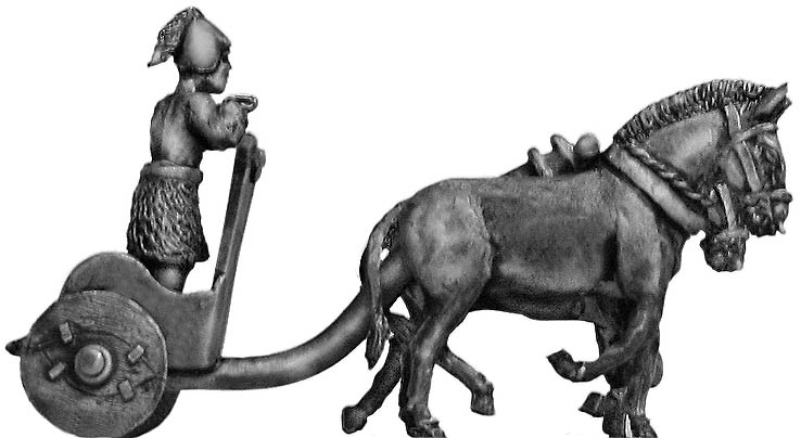 Sumerian Two Ass Battle Car