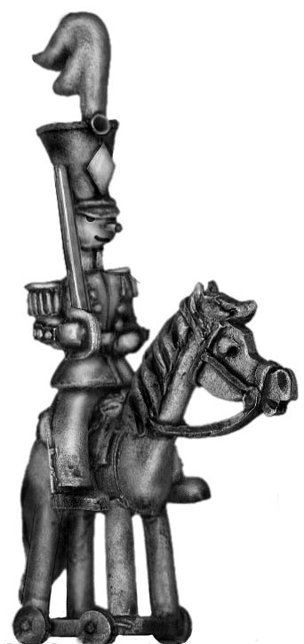 Toy Town Soldier Light Cavalry trooper