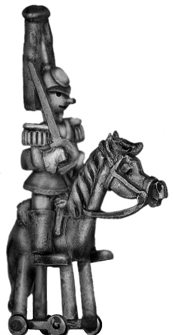 Toy Town Soldier Heavy Cavalry Officer