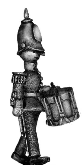 Toy Town Soldier drummer in helmet marching