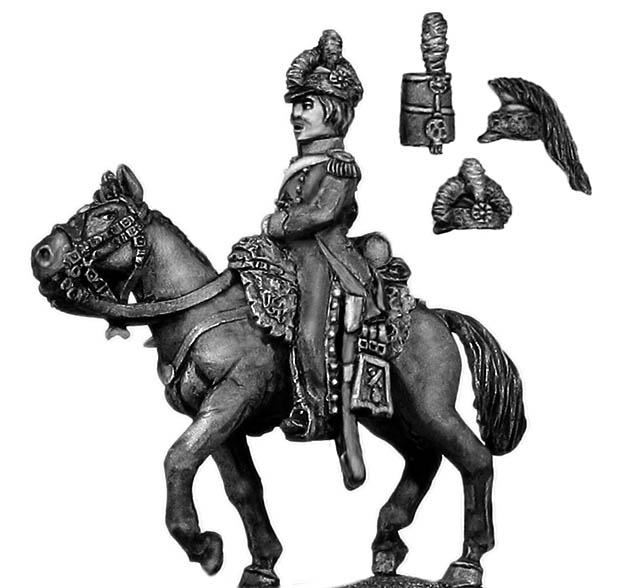 Mounted Horse Artillery officer chasseur coat