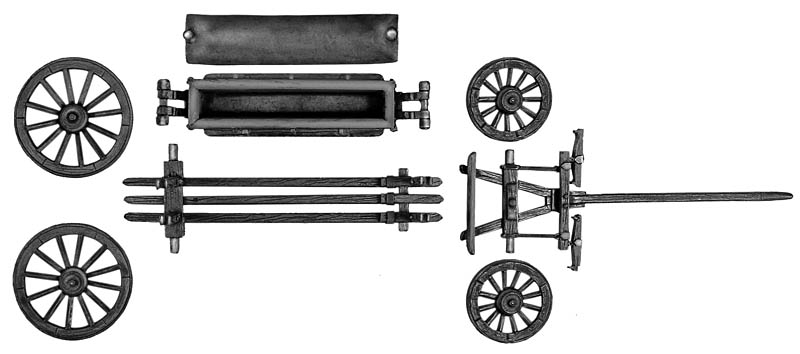 Caisson würtz wagon (no horses or crew)