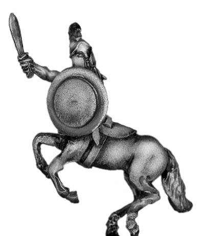 Centaur chief with blade