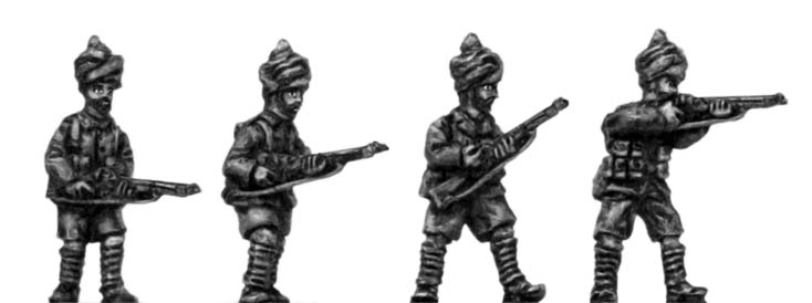 British in Sinai Indian Infantry