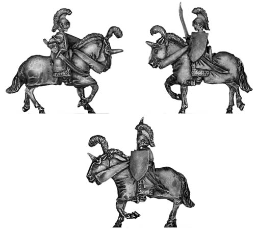 Elf cavalry with sword