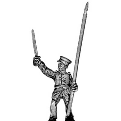 US Infantry standard bearer