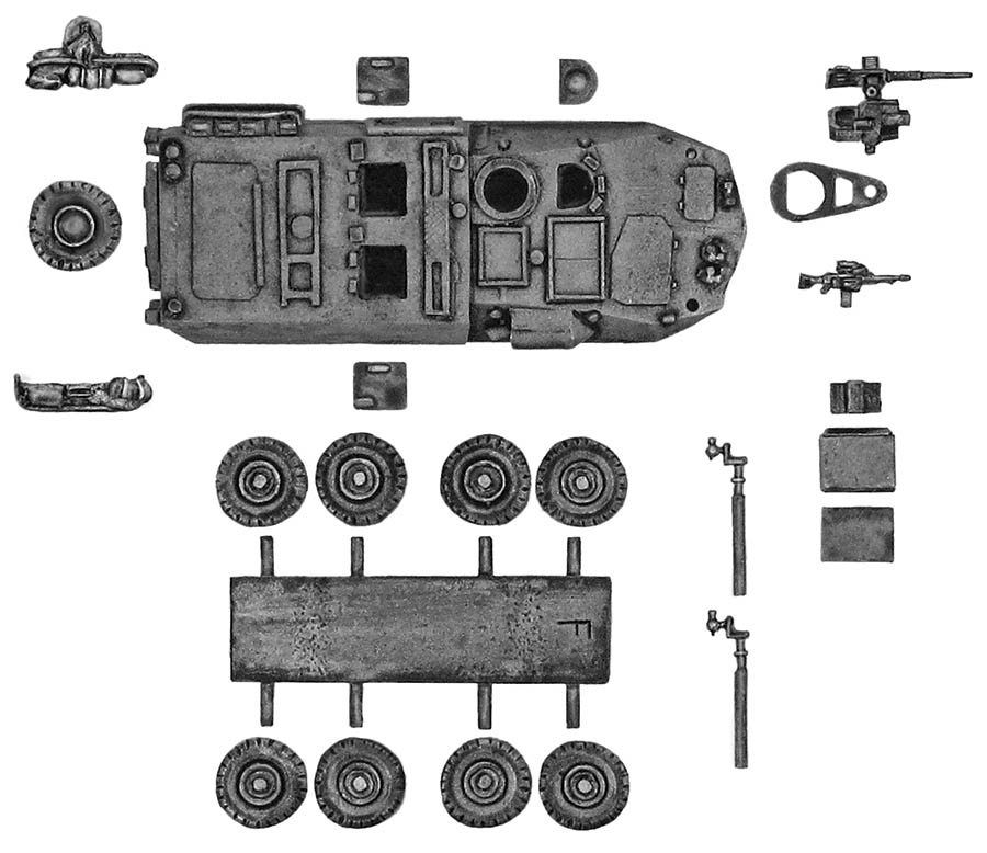 ASLAV Type 2 PC Car
