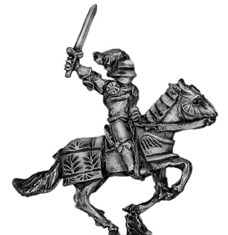 Men of Grandeur officer mounted with sword