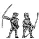 Early Samurai followers with bow