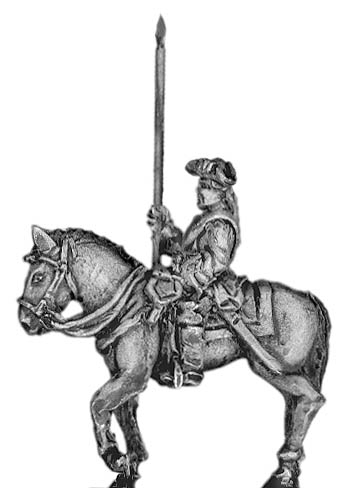 Prussian Dragoon standard bearer