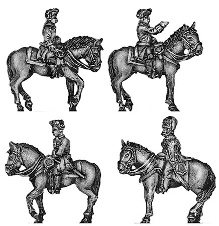 Prussian Mounted General Staff