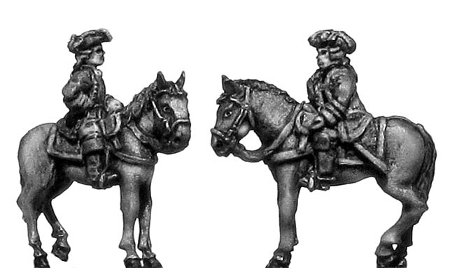 Mounted general staff