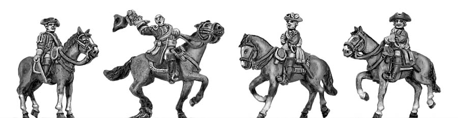 Mounted command set