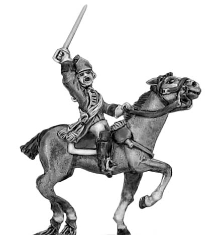 Light Dragoon in helmet officer