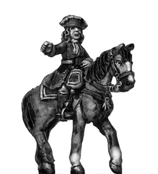 Catalonian Line Cavalry officer