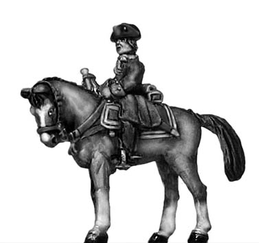 Catalonian Line Cavalry trumpeter