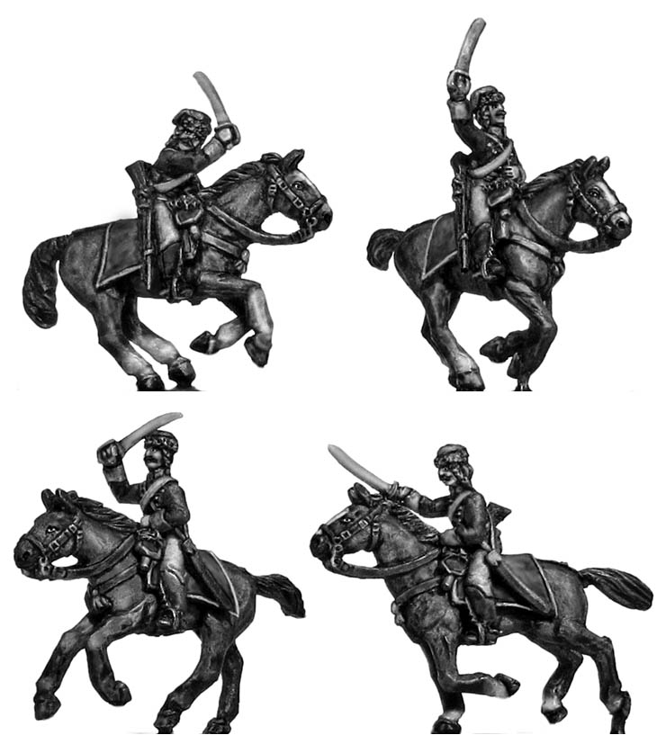 Catalonian Hungarian hussar trooper