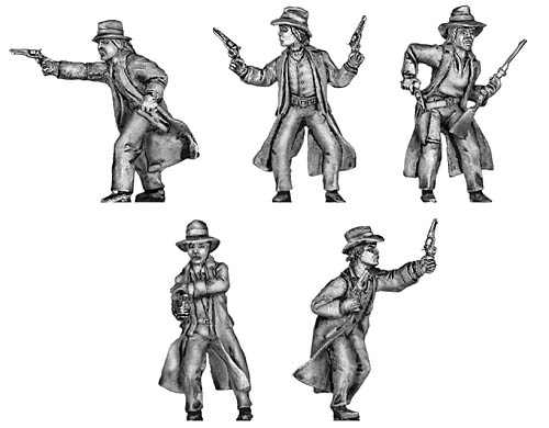 James-Younger Gang Set