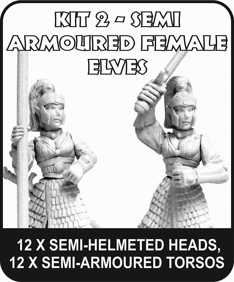 Semi-Armoured Female Elves