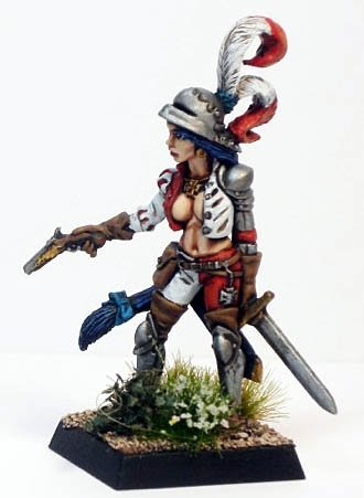 Female Empire Soldier