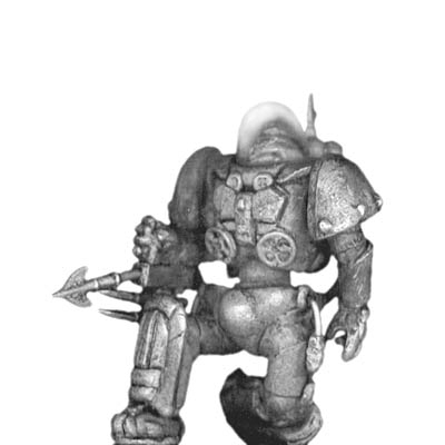Impervious Suit with harpoon gun kneeling