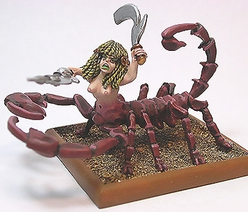 Light Temple Scorpion Warrior #1