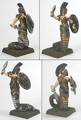 Dark Temple Guard Scout Swords