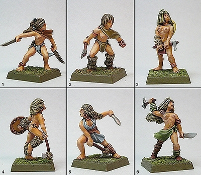 Tribal Hatchet Warriors