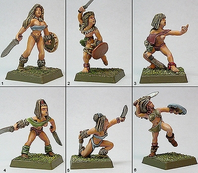 Tribal Machete Warriors