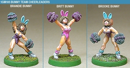 Gridiron Bunny Cheerleaders
