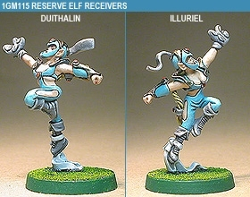 Gridiron Reserve Elf Receivers